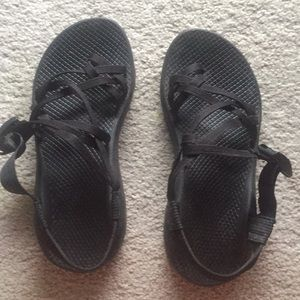 Black Chacos size 8 normal width